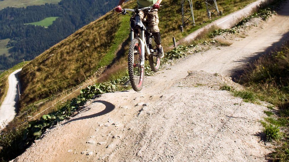 Mountainbiken in Leogang: Gangster im Tiefflug