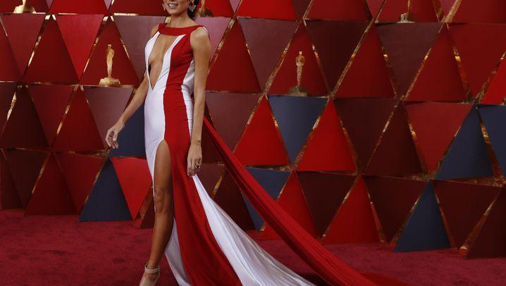 Stars auf dem roten Teppich: Die Oscars sind bunt
