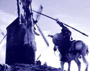 Don Quijote: Sein Kampf gegen Windmühlen machte Cervantes' Figur legendär