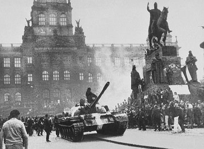 """The uprising known as the """"Prague Spring"""" was crushed by the Soviets in August 1968."""