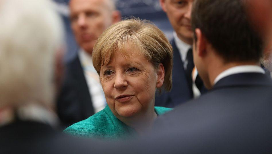 Bundeskanzlerin Angela Merkel auf dem G20-Gipfel