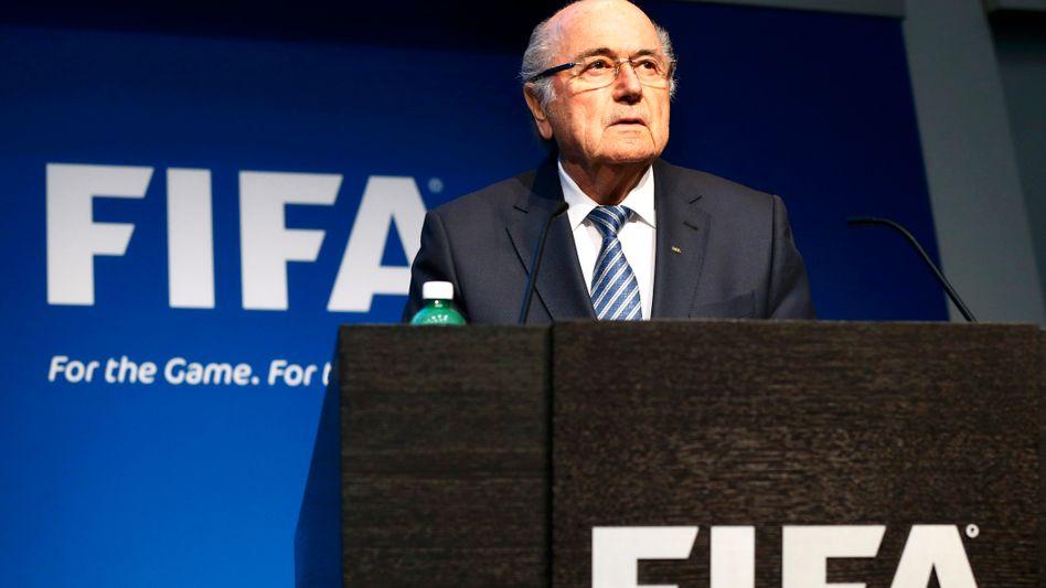 Joseph Blatter: Neuwahlen frühestens in vier Monaten