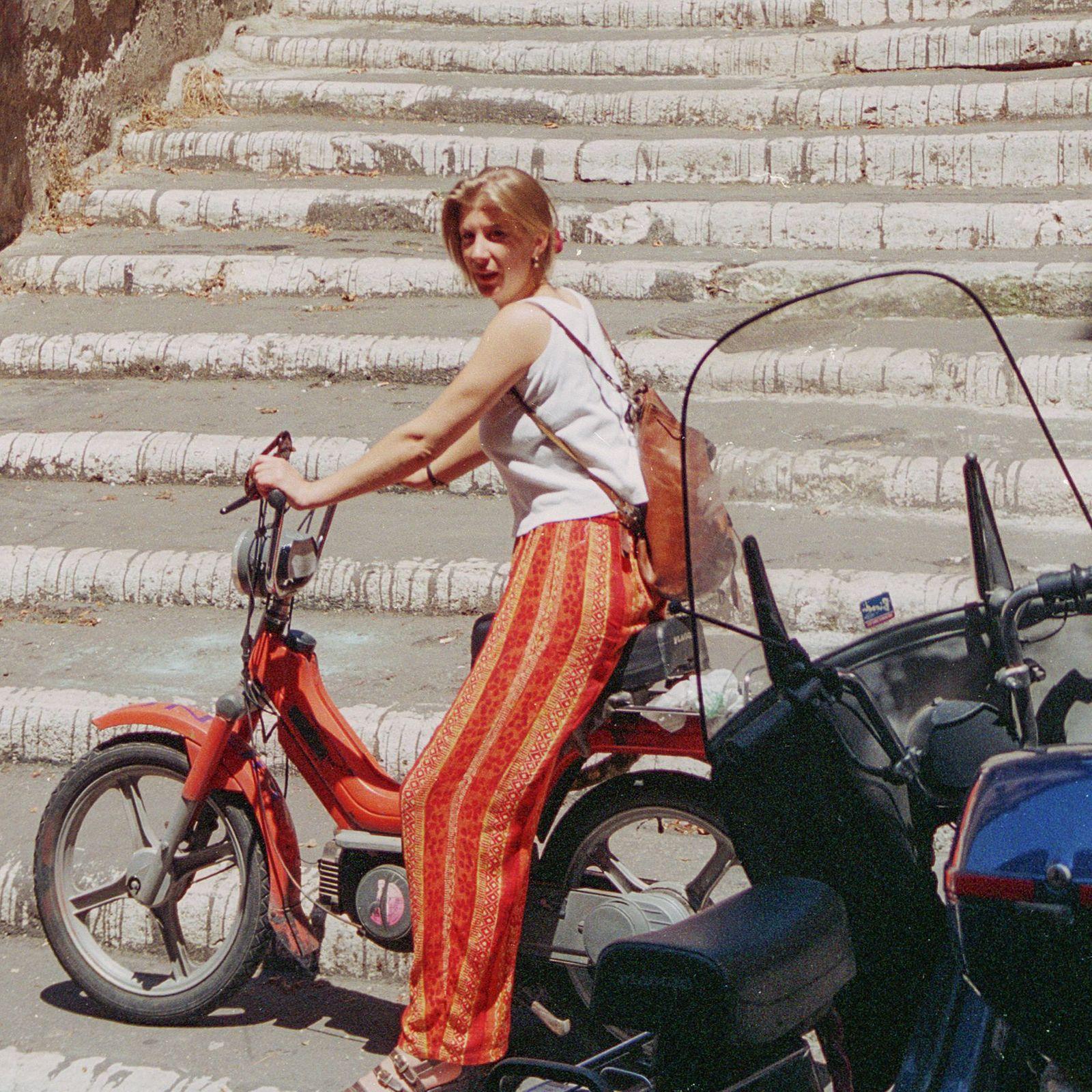 Katja und Motorino