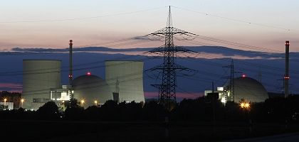 Nuclear reactors in Germany, like here at Biblis, are scheduled for phase-out.