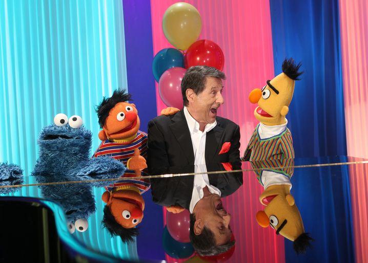 """2013: """"Aber bitte mit Sahne"""" mit dem Krümelmonster, Ernie und Bert"""