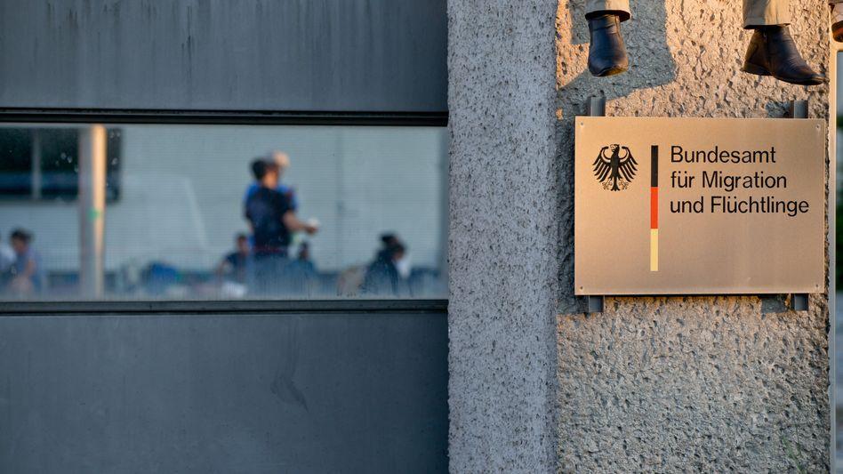 Überlastete Behörde: Das Bundesamt für Migration und Flüchtlinge (Bamf) in Nürnberg