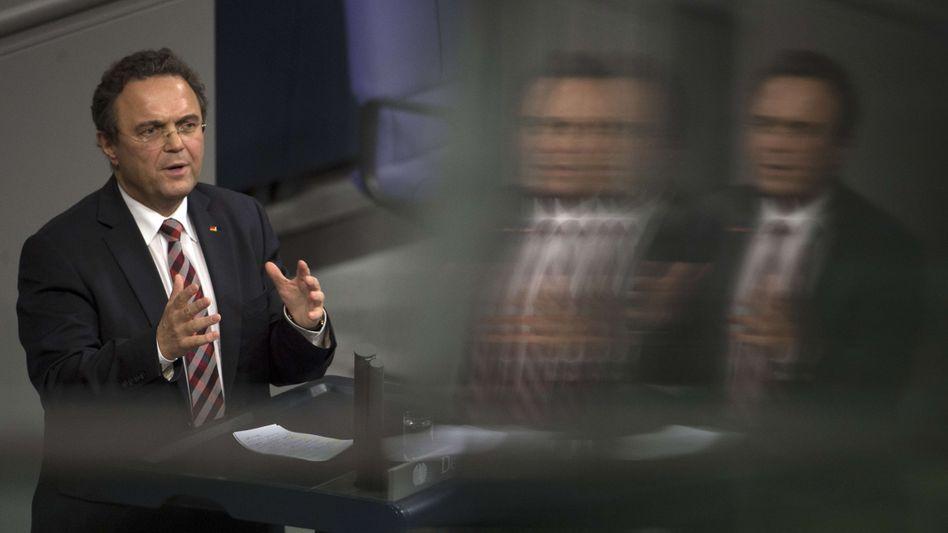 Innenminister Hans-Peter Friedrich: Böser Tom, ganz böse!