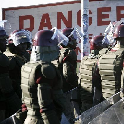 Polizeiaufgebot in Nairobi: Aufmarsch gegen die Großdemonstration