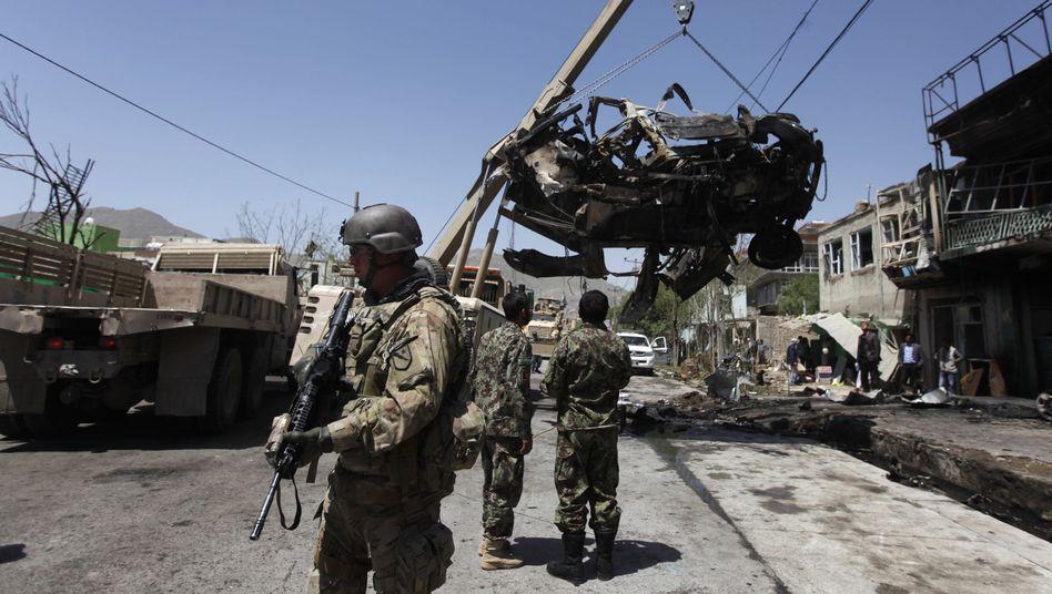 Explosion in Kabul: Mindestens 14 Tote bei Anschlag auf Militärkonvoi