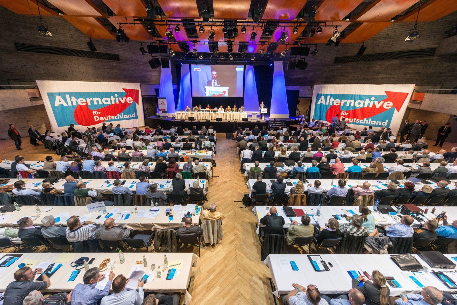 Landesparteitag AfD in Bayern