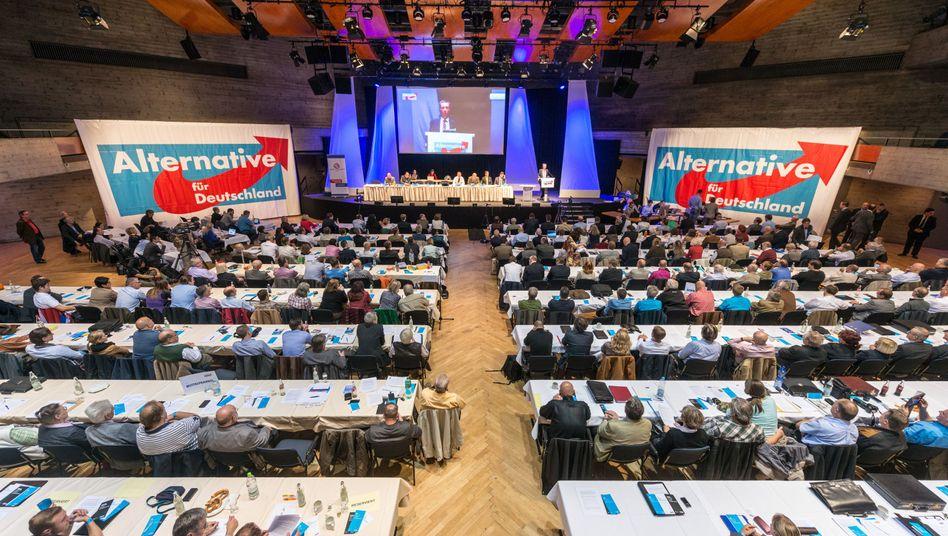 AfD-Parteitag in Ingolstadt: Wieder Daten geklaut