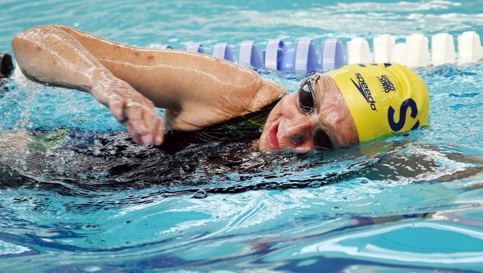 Schwimmerin Ingeborg Fritze: Kraulen im Alter von 94