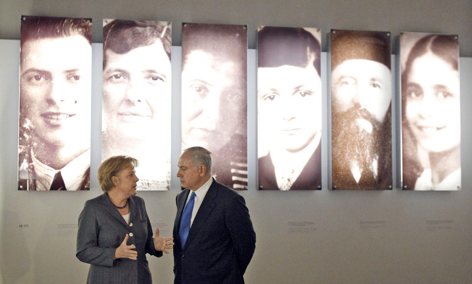 Deutsch-israelische Regierungskonsultationen Merkel, Netanjahu