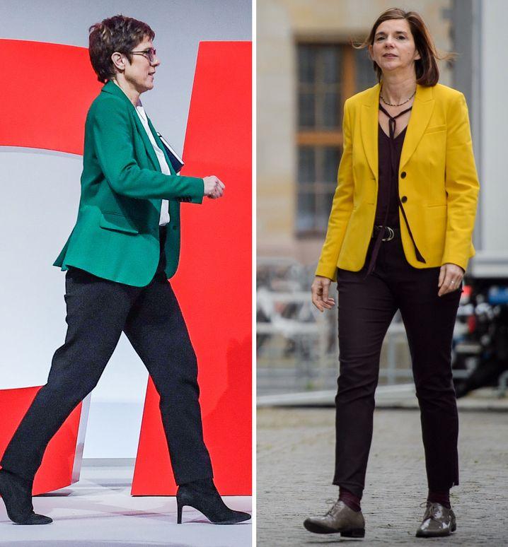 CDU-Chefin Annegret Kramp-Karrenbauer, Göring-Eckardt