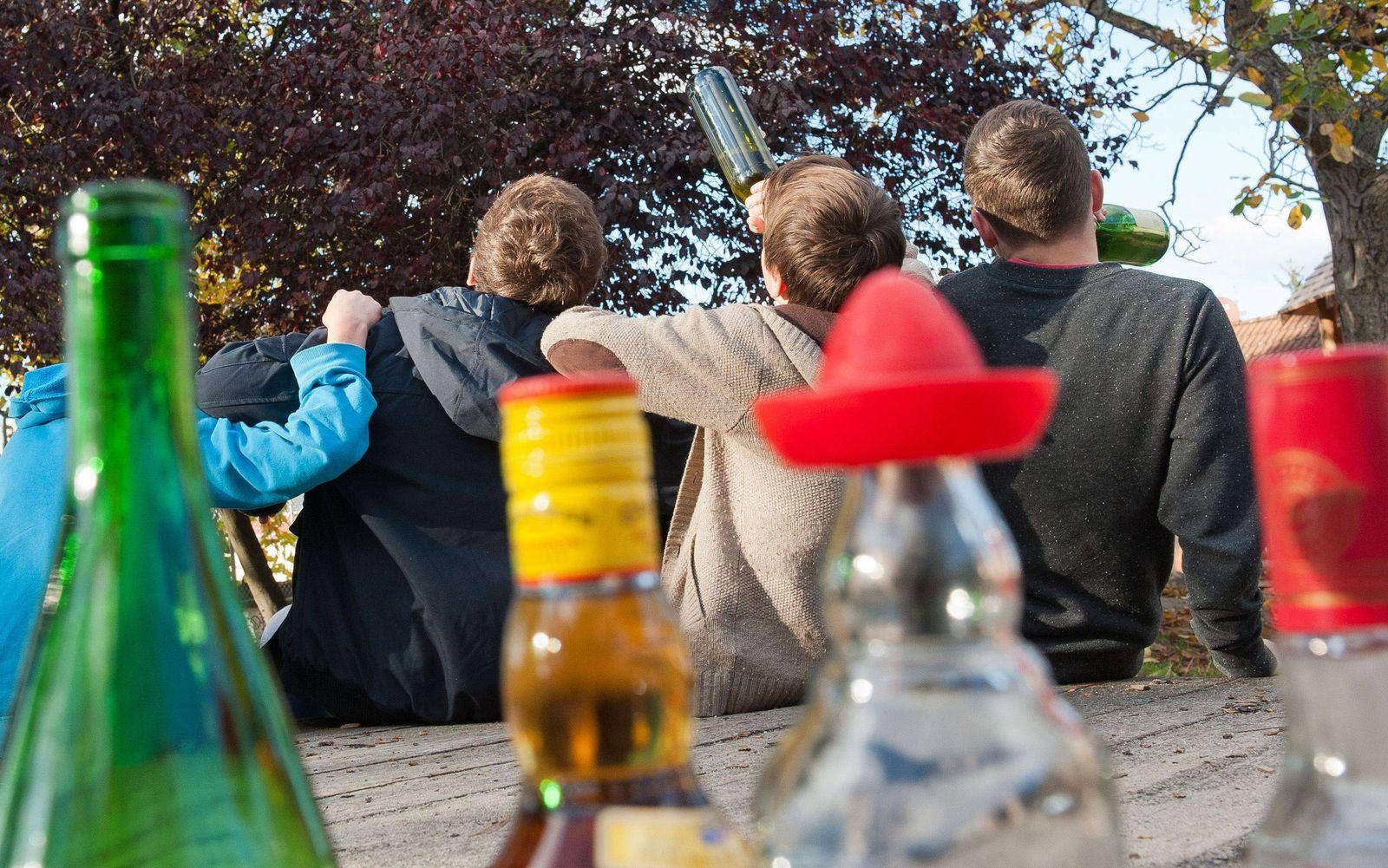 EINMALIGE VERWENDUNG Alkoholkonsum/ Jugendliche