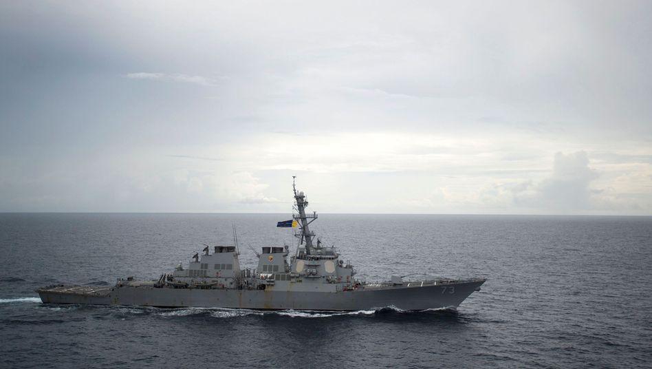 """US-Zerstörer """"USS Decatur"""""""