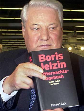 Boris Jelzin: Fährt zur Entspannung frontal auf einen Baum zu