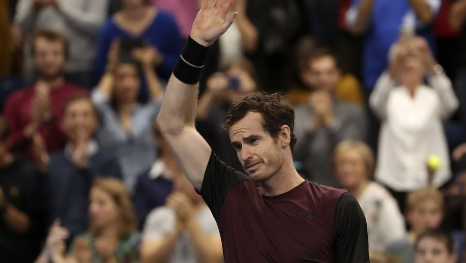 Für Andy Murray war es ein emotionaler Sieg in Antwerpen