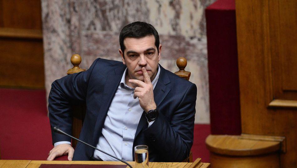 """Tsipras im Parlament: """"Unser Ziel ist, das Abkommen bald abzuschließen"""""""
