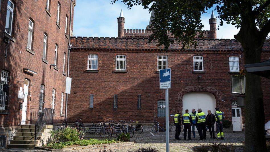 Justizvollzugsanstalt Münster: Besprechung der Spurensicherung