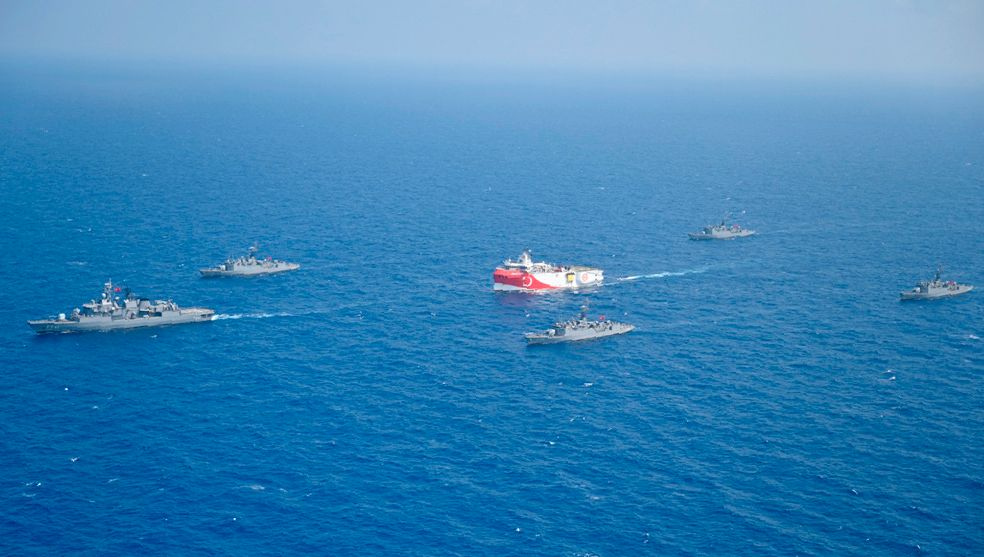 Streit um Erdgas im östlichen Mittelmeer