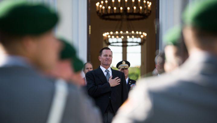 US-Botschafter: Grenell bei Steinmeier