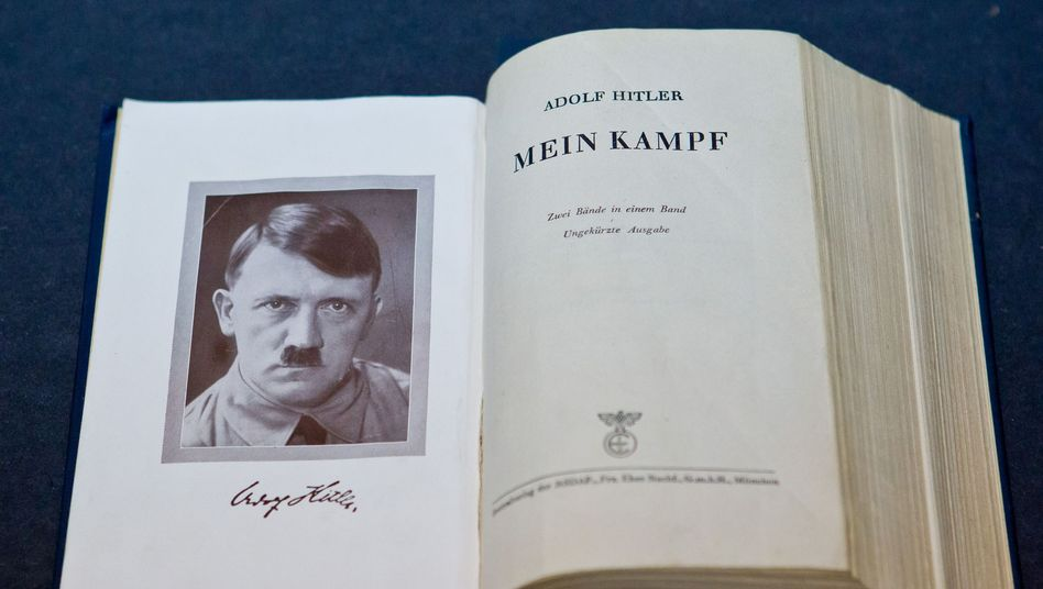 """NS-Druckerzeugnis """"Mein Kampf"""": """"Unverschämtheit erster Güte"""""""