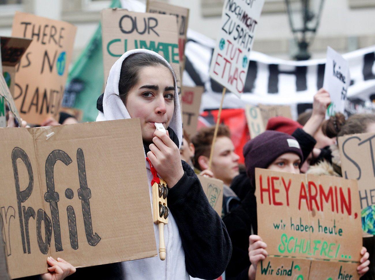 "Schülerprotest ""Fridays for Future"""