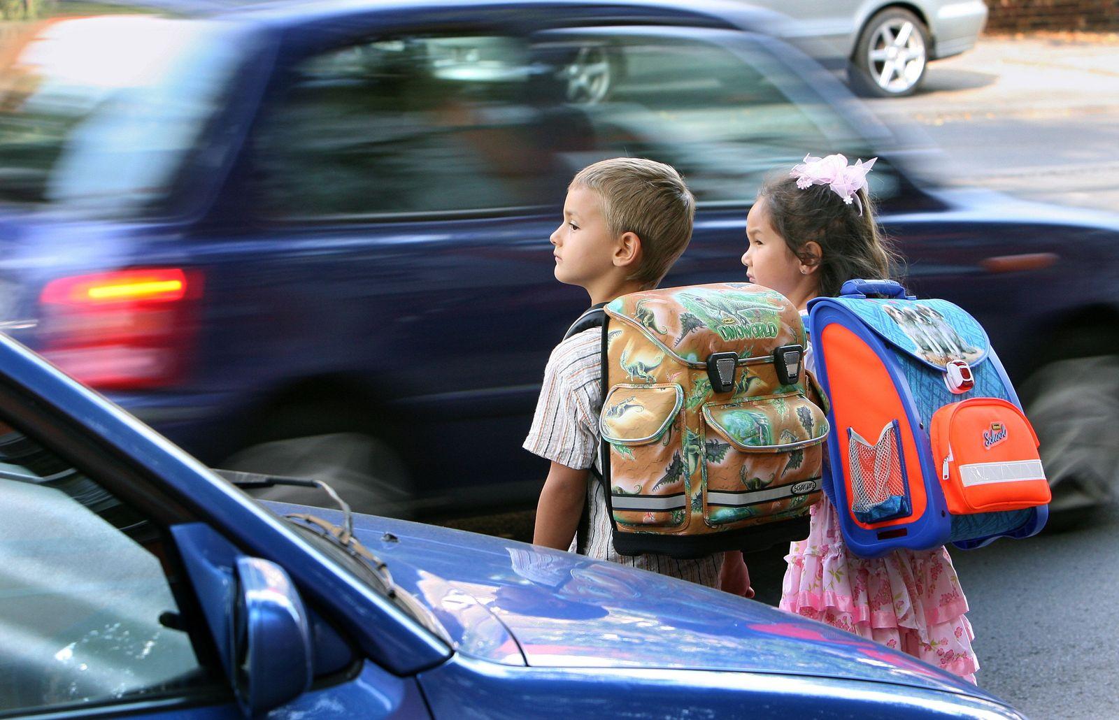 Strassenverkehr / Kinder