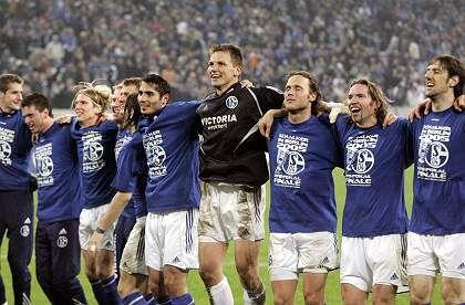 Schalker Jubel: Traum vom Pokalsieg