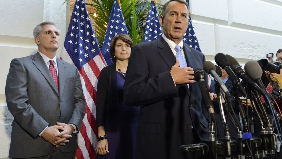 US-Haushaltsstreit: Republikaner riskieren den Staatsbankrott