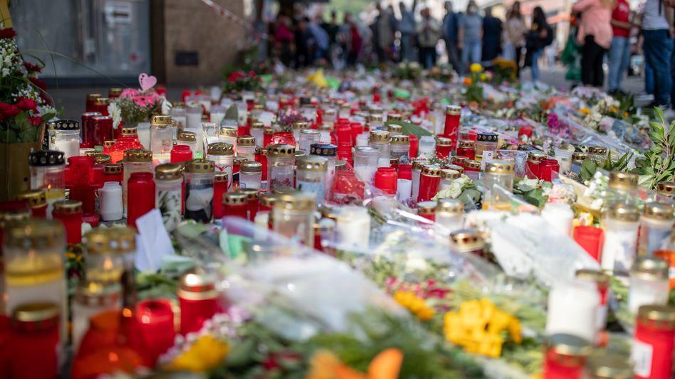 Trauer um die Opfer des Attentats von Würzburg (Archiv)