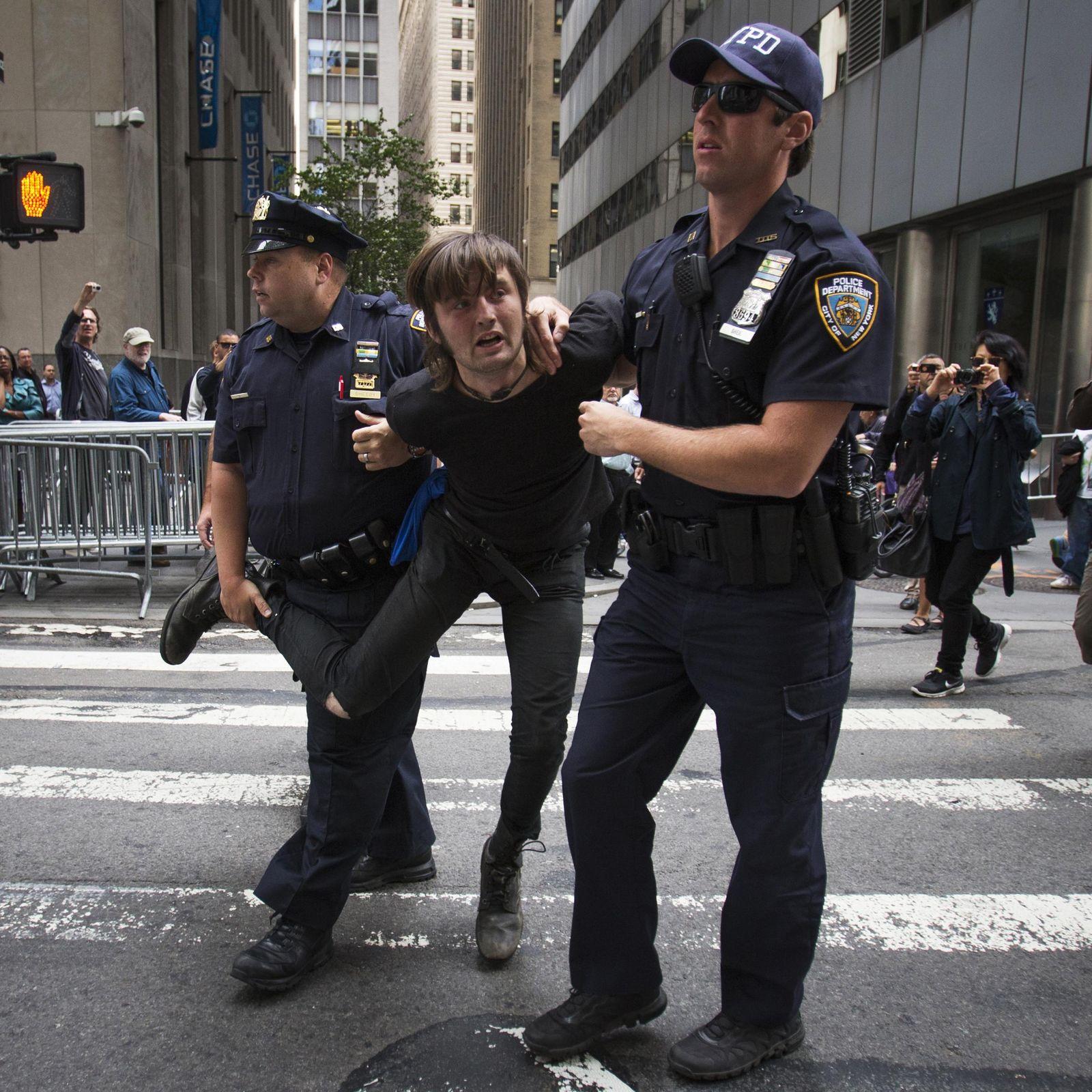 Flood Wall Street/New York