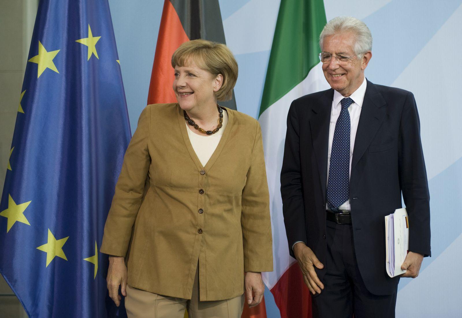 NICHT VERWENDEN Monti / Merkel
