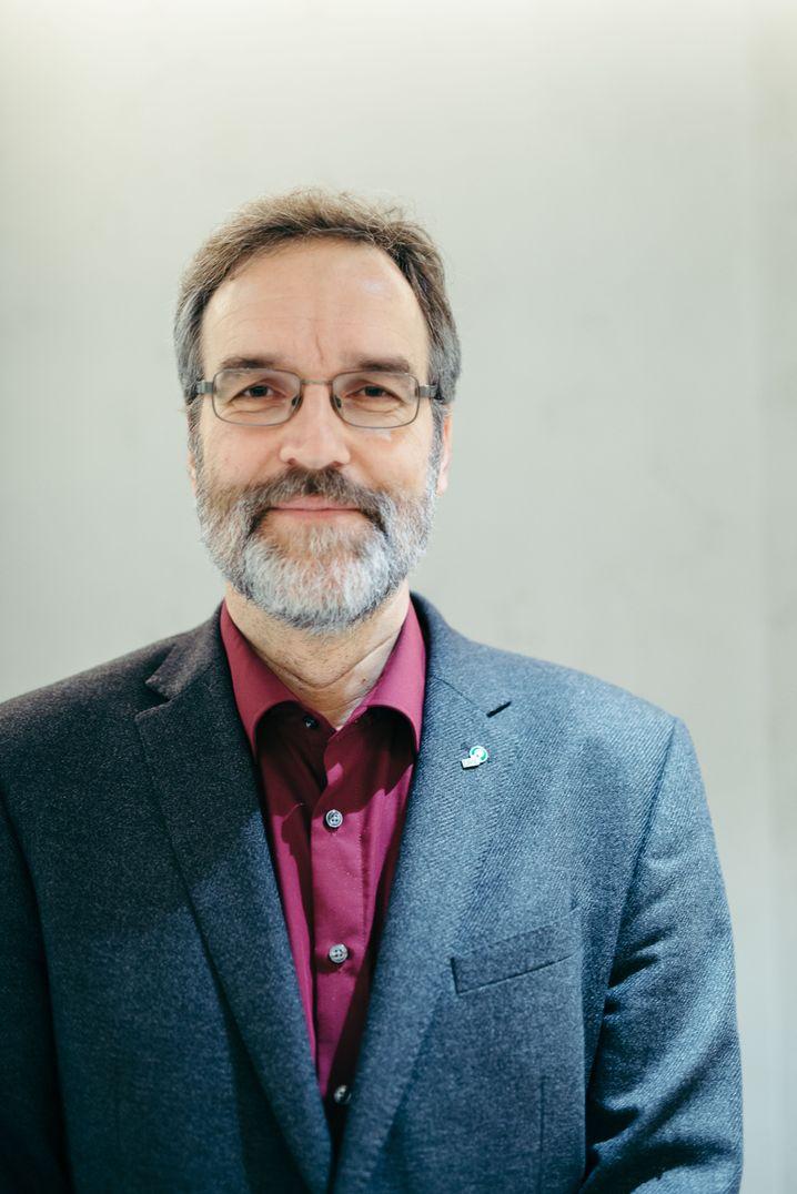 Stefan Treue, Tierphysiologe, Neurowissenschaftler und Direktor des Deutschen Primatenzentrums - Leibniz-Institut für Primatenforschung in Göttingen.