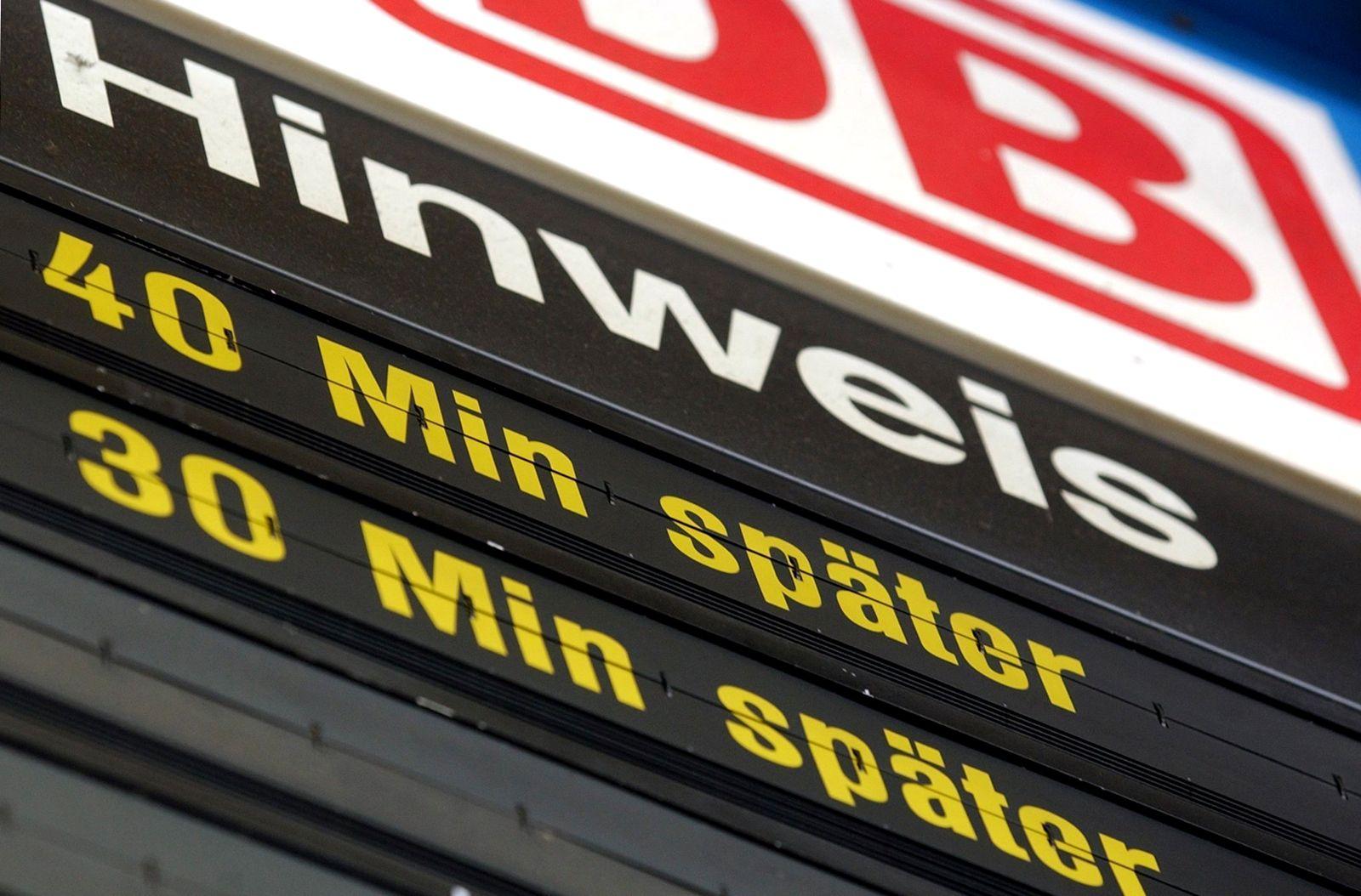 Deutsche Bahn/ Verspätungen