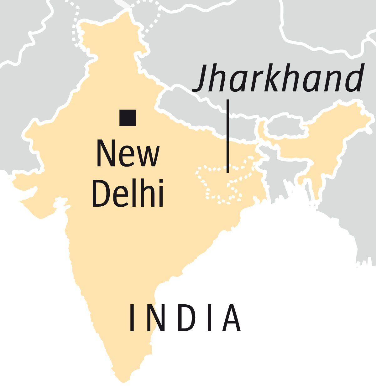 Englische Version --- DER SPIEGEL 25/2017, Seite 92 Map India