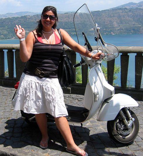 Elisa Kaun, heute 19, in Italien: Pausenlos Zank mit der Mutter