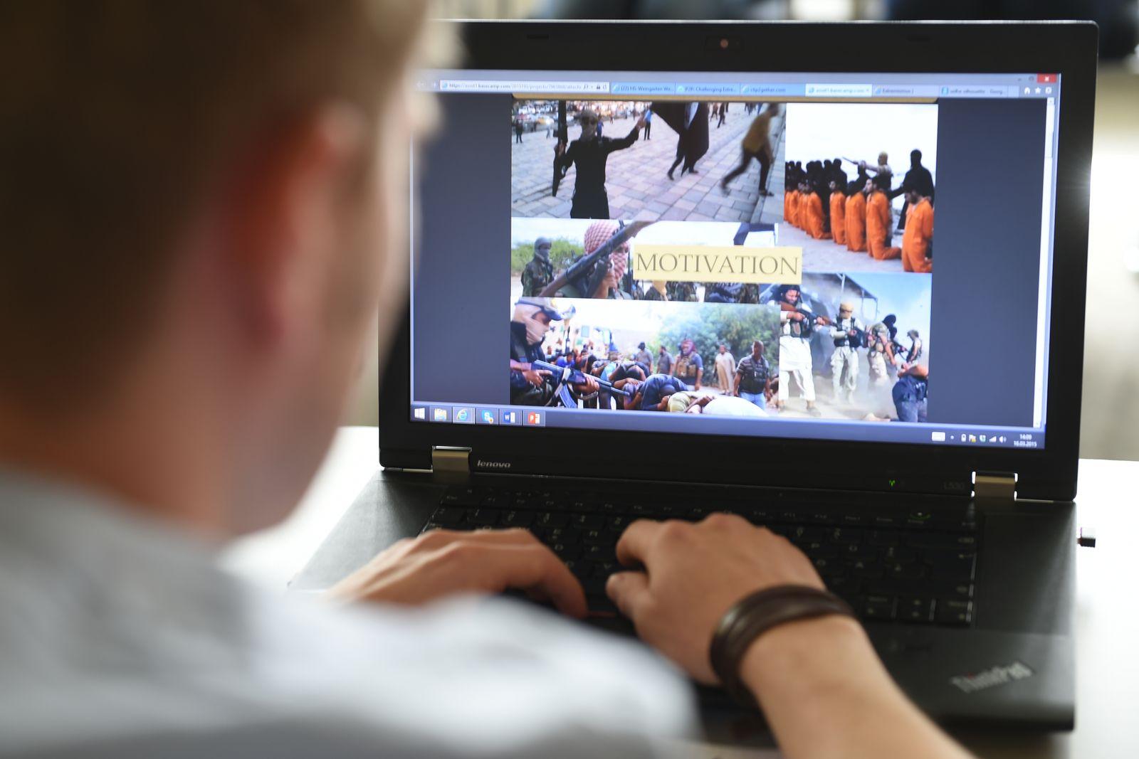 Digitale Kampagne gegen Extremisten in Sozialen Netzwerken