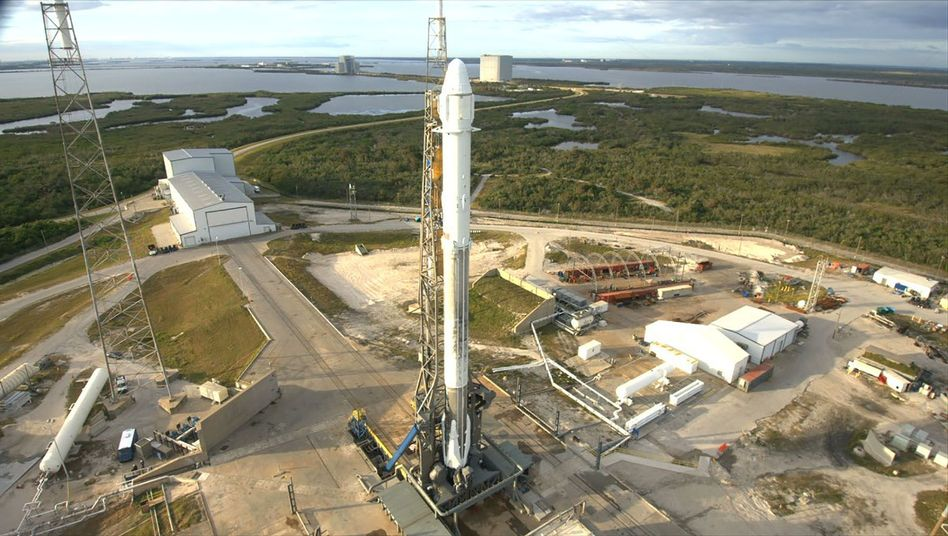 SpaceX-Rakete in Cape Canaveral (Archivfoto)