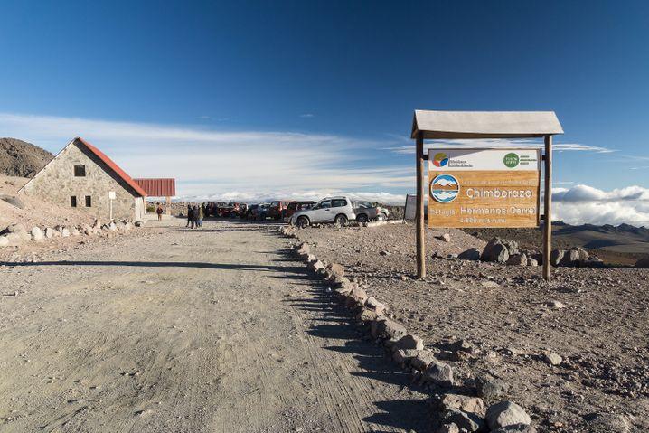 Carrel-Hütte am Chimborazo