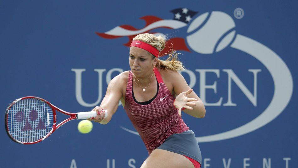 Tennisspielerin Lisicki: Sieg gegen die Argentinierin Paula Ormaechea
