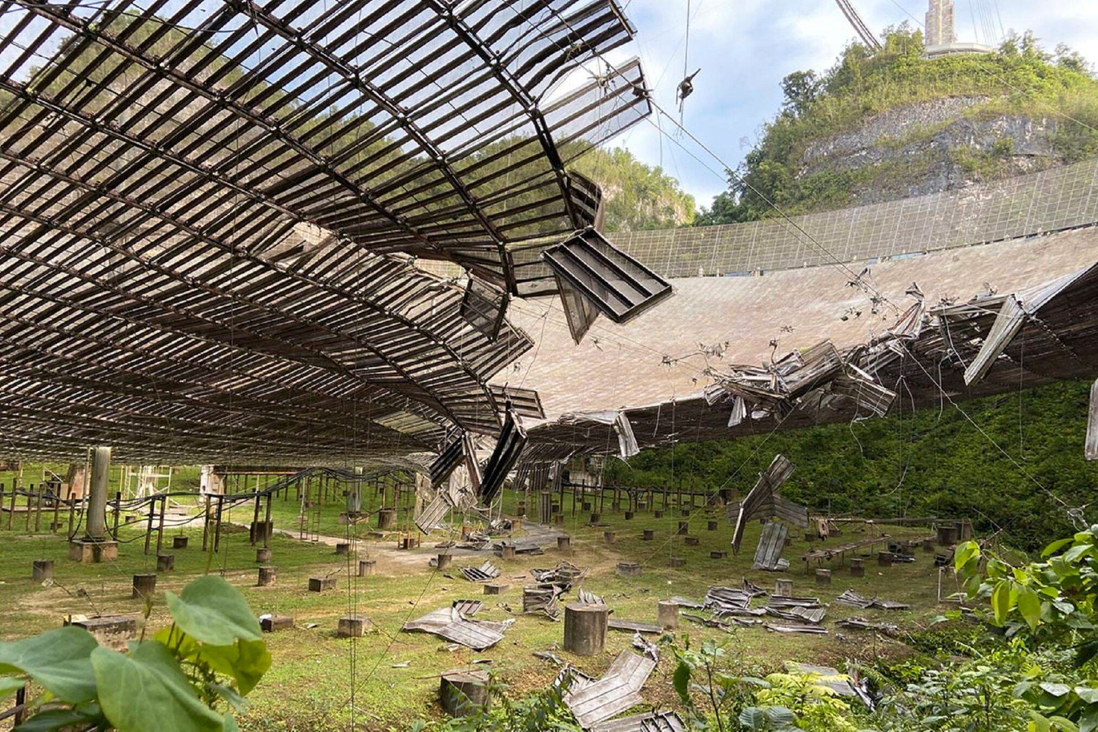 August 11, 2020: Observatorio de Arecibo PUBLICATIONxINxGERxSUIxAUTxONLY - ZUMAd69_ 20200811_zaa_d69_042 Copyright: xElx