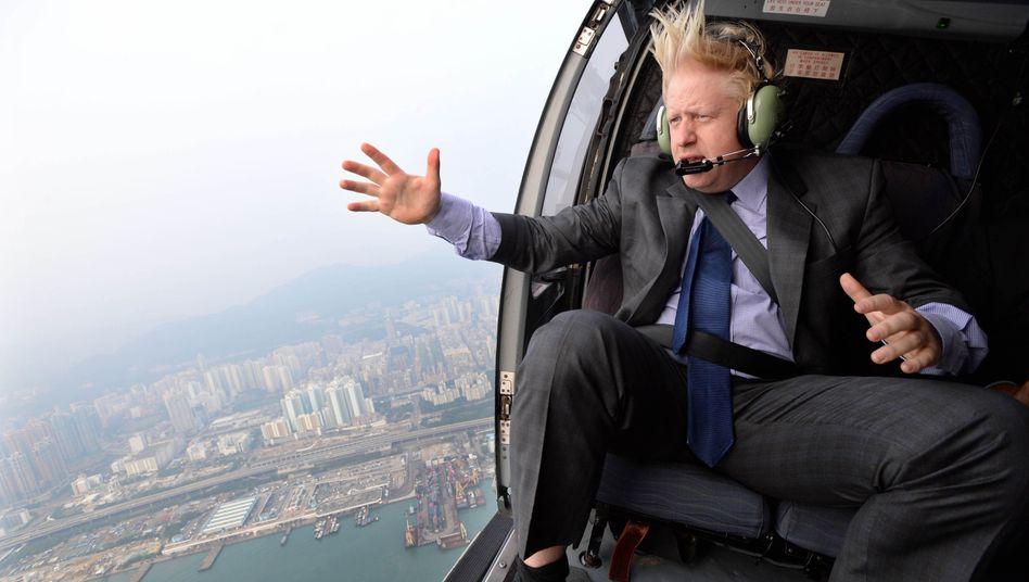 Boris Johnson bei einem Besuch in Hongkong im Jahr 2013