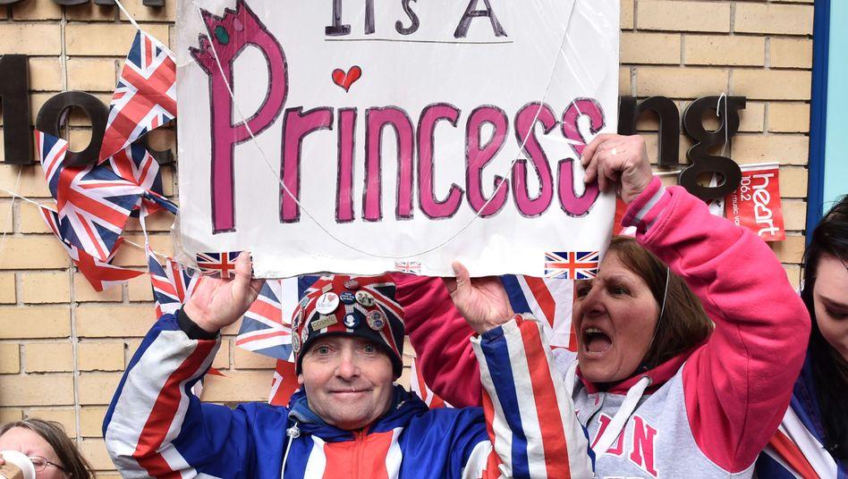 Royal Baby: Herzogin Kate bringt Tochter zur Welt