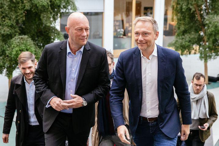 """FDP-Politiker Kemmerich, Lindner: """"Liegt nicht an mir, zu Gesprächen einzuladen"""""""