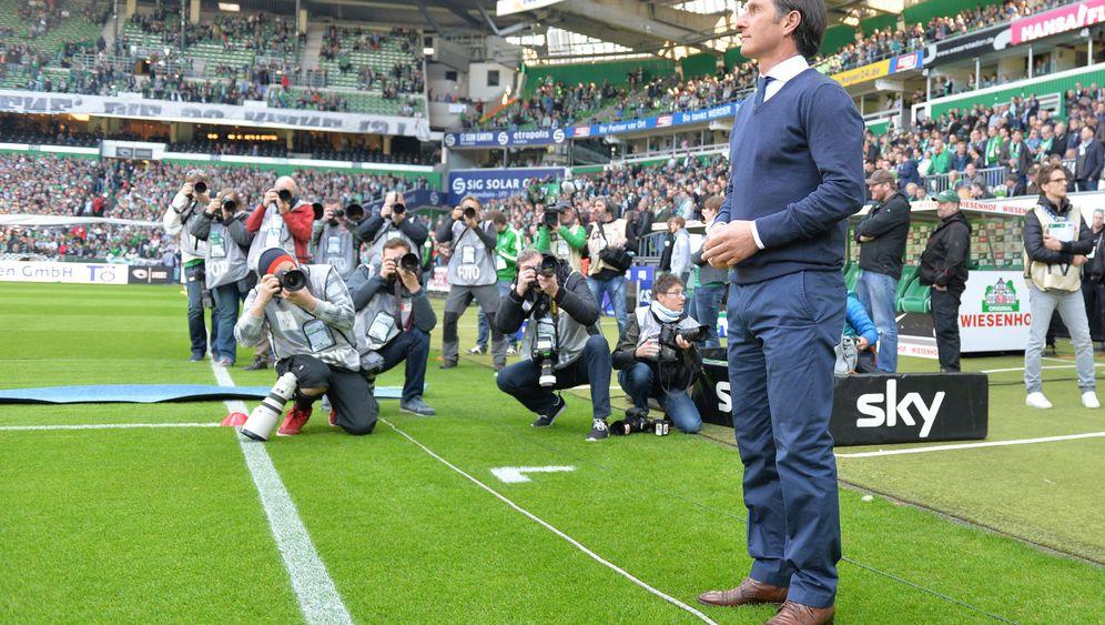 Nordderby Bremen gegen Hamburg: Viel Kampf und Krampf, wenig Fußball