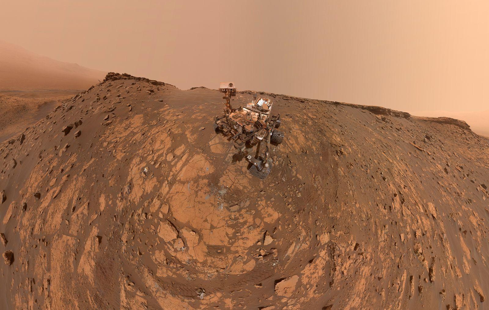 Selfie des Mars Rover