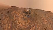 """Curiosity"" sendet neues Selfie"