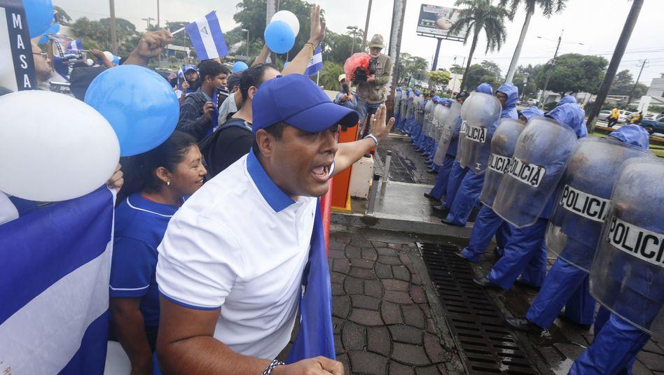 Proteste in Nicaragua (im September 2019)